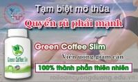 Giảm ngay 750000 vnđ khi mua combo 3 lọ Green Coffee Slim