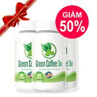 Giảm giá cực sốc khi mua combo 3 lọ Green Coffee Slim